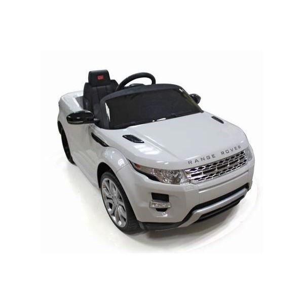 voiture lectrique range rover evoque 6v blanche achat vente voiture cadeaux de no l cdiscount. Black Bedroom Furniture Sets. Home Design Ideas