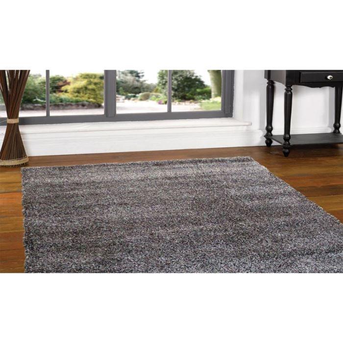 Tapis shaggy poils longs meike 2400 cm 200x290 achat vente tapis cdi - Tapis shaggy 200x290 ...
