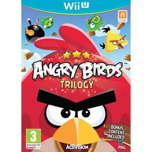 JEUX WII U Angry Birds Trilogy Jeu Wii U