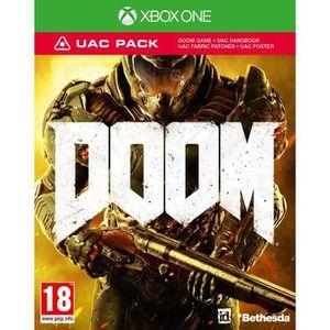 JEUX XBOX ONE DOOM UAC Jeu Xbox One