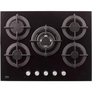 plaque de cuisson gaz verre trempe achat vente plaque. Black Bedroom Furniture Sets. Home Design Ideas