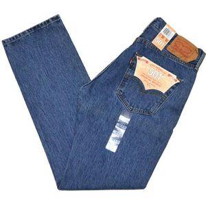 JEANS Jeans Levis 501 coupe droite bleu stone denim