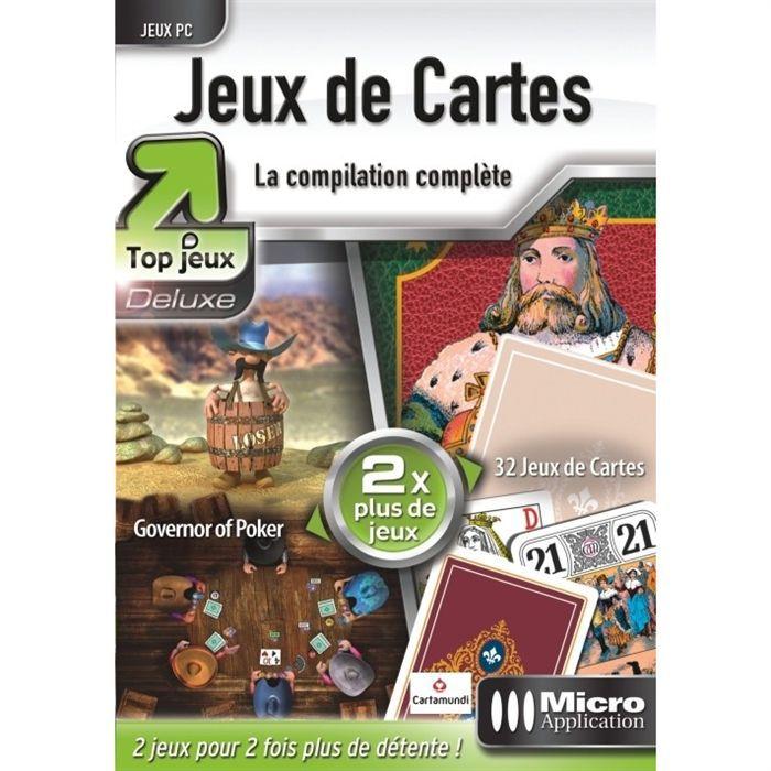 jeux de cartes edition top jeu deluxe micro appli achat vente jeu pc jeux de cartes. Black Bedroom Furniture Sets. Home Design Ideas