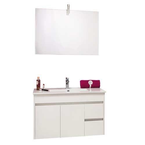 meuble de salle de bains a suspendre lumpur achat vente armoire de toilette meuble de salle. Black Bedroom Furniture Sets. Home Design Ideas