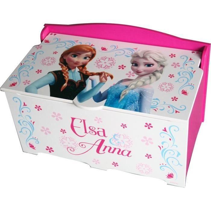 coffre jouet en bois la reine des neiges achat vente coffret cadeau jouet 8435333831489. Black Bedroom Furniture Sets. Home Design Ideas