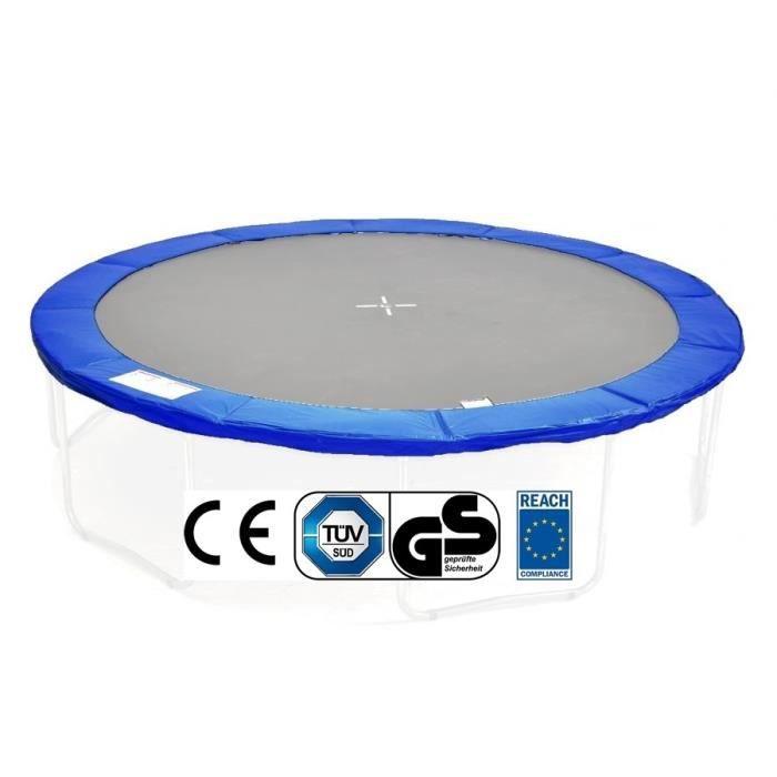 Coussin de protection de ressort pour trampoline 3 66 m bleu achat vente - Ressort de trampoline ...