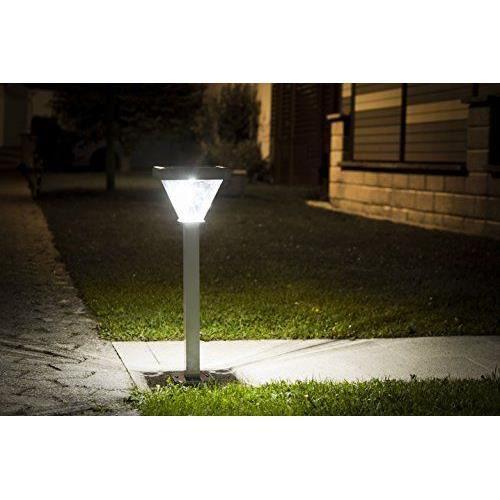 Galix 1031 poteau solaire aluminium achat vente galix 1031 poteau solaire a cdiscount for Poteau eclairage exterieur