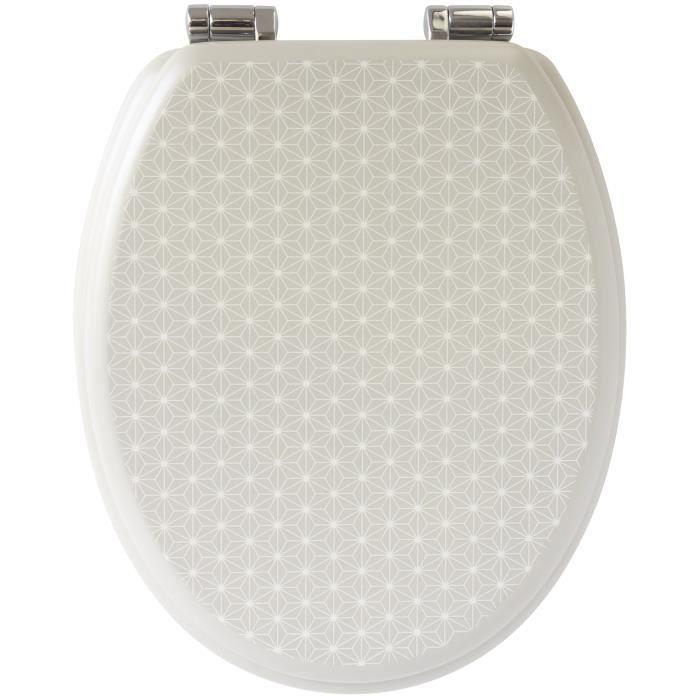 abattant de wc beige achat vente abattant de wc beige pas cher les soldes sur cdiscount. Black Bedroom Furniture Sets. Home Design Ideas