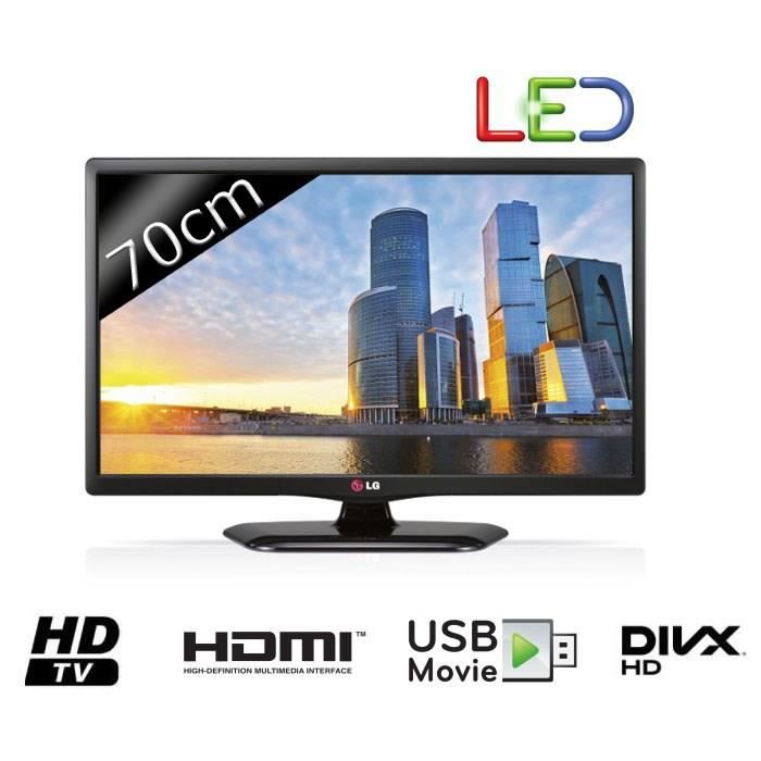 Lg 28mt48d tv led hd 70cm 27 5 t l viseur led prix pas cher cdis - Cdiscount television led ...