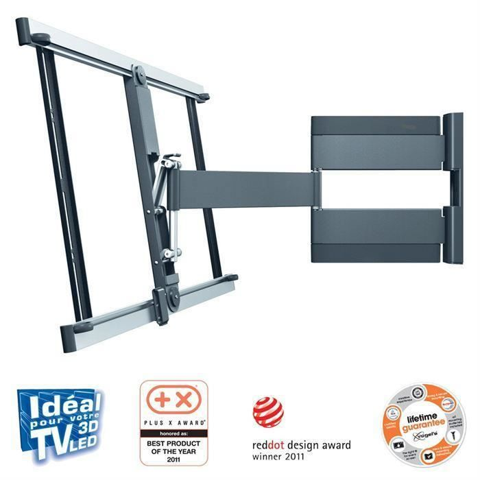 Destockage vogel 39 s thin345 support tv mural orientable 180 - Support tv mural 40 pouces ...