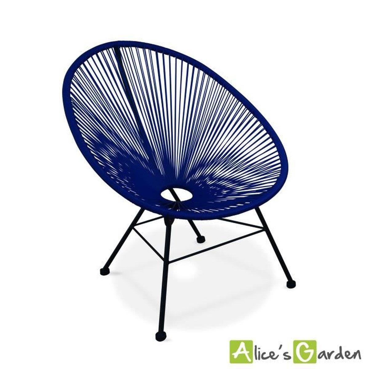 fauteuil acapulco achat vente fauteuil acapulco pas cher les soldes sur cdiscount cdiscount. Black Bedroom Furniture Sets. Home Design Ideas
