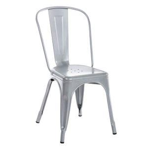 CHAISE CLP Chaise empilable en métal BENEDIKT, hauteur de