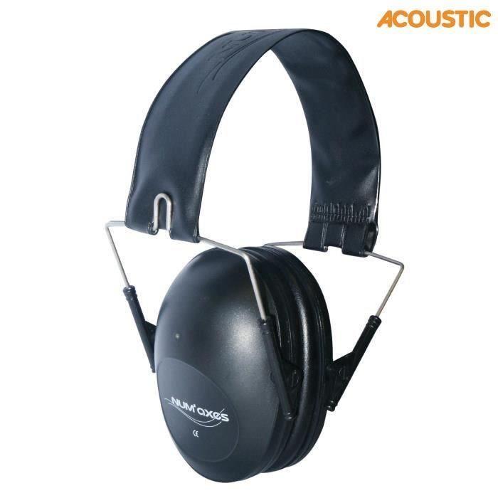 Casque anti bruit passif acoustic kaki prix pas cher for Meilleur casque anti bruit passif
