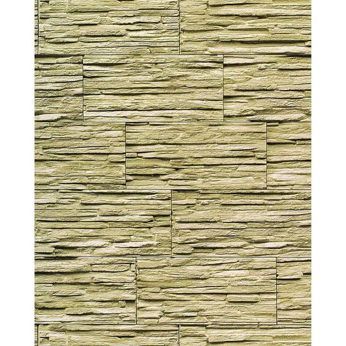 papier peint quartzite ardoise en relief 1003 35 vinyle. Black Bedroom Furniture Sets. Home Design Ideas