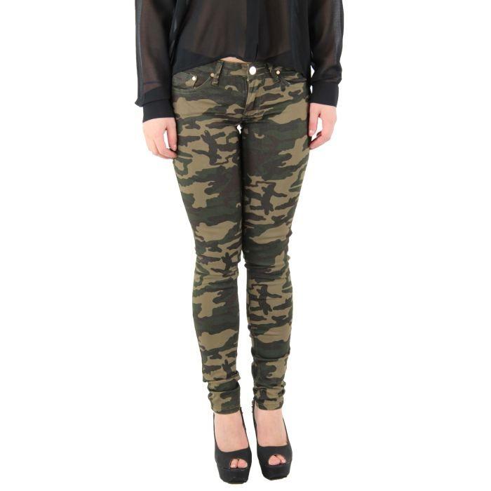 pantalon femme militaire vert fonc achat vente pantalon pantalon femme militaire cdiscount