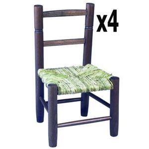 chaise bois paille enfant achat vente chaise bois paille enfant pas cher cdiscount. Black Bedroom Furniture Sets. Home Design Ideas