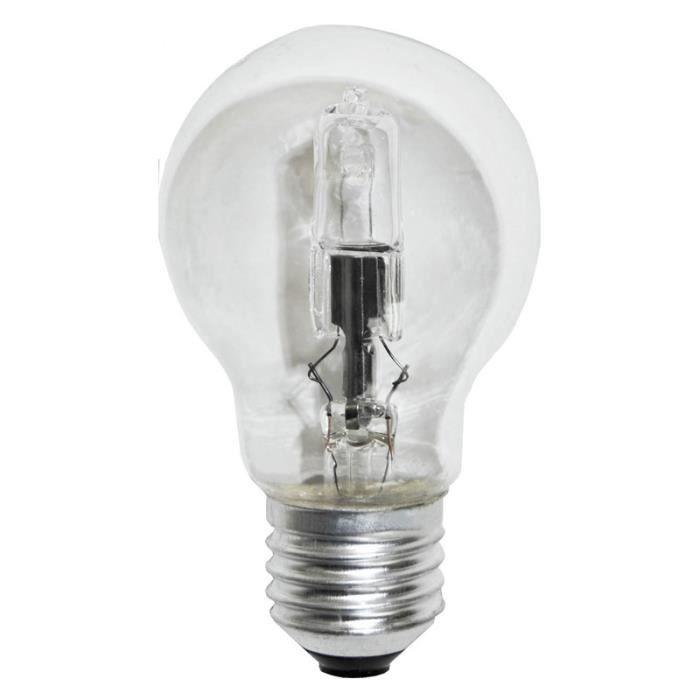 Ampoule halog ne boule e27 53w 742lm 2700 k achat vente ampoule hal - Ampoule boule a facette ...