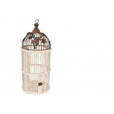 Cage oiseaux d coration maison oiseau style ancien en - Cage oiseau decorative interieur ...