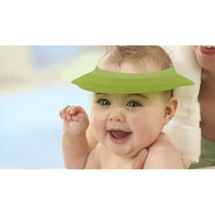chapeau de protection bain b b ovni lavable pliable mignon achat vente casquette snood. Black Bedroom Furniture Sets. Home Design Ideas
