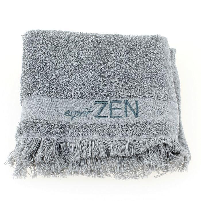Serviette de toilette zen gris achat vente serviettes de bain cdiscount - Toilettes zen ...
