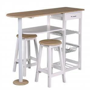 Table bivoak avec 2 tabourets achat vente mange debout - Table cuisine avec tabouret ...