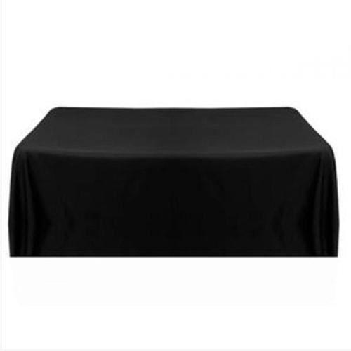 Nappe de table chaise satin noir carr pour mariage for Nappe de table carre