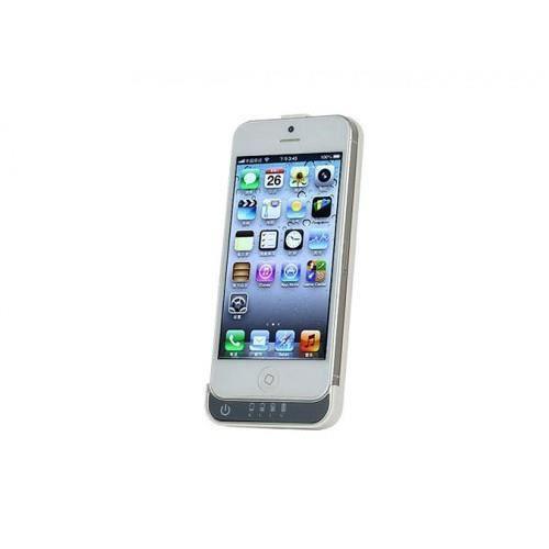 batterie externe pour iphone 5 5s couleur blanc achat. Black Bedroom Furniture Sets. Home Design Ideas