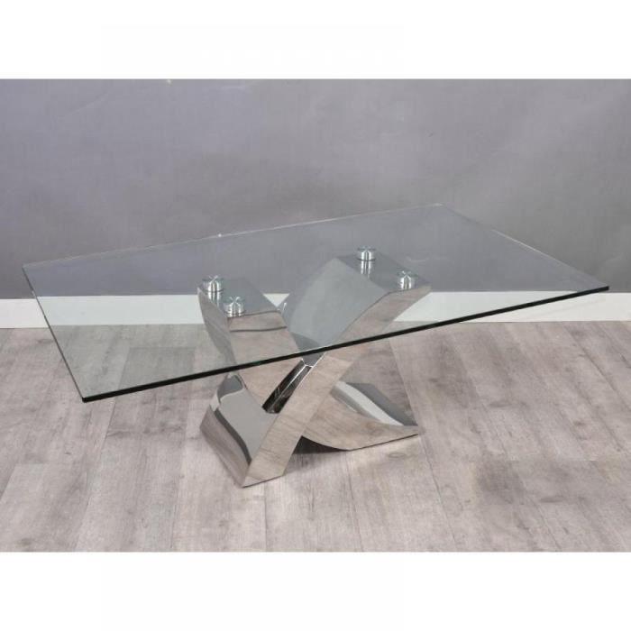 Table basse hera en verre achat vente table basse - Table basse en verre cdiscount ...