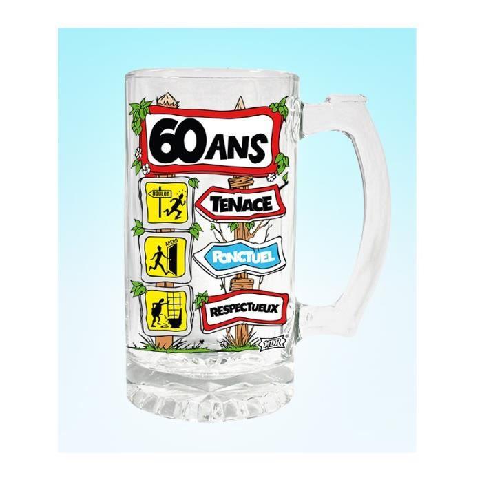 Chope bi re achat vente verre bi re cidre cdiscount - Chope de biere 1l ...