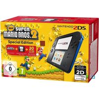 CONSOLE 2DS Pack Console 2DS Bleue + New Super Mario Bros 2