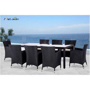 Tables chaises fauteuils achat vente tables - Table de jardin noire asnieres sur seine ...