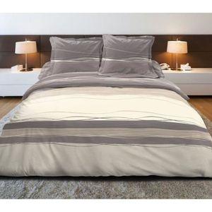 parure de lit 200x180 achat vente parure de lit 200x180 pas cher cdiscount. Black Bedroom Furniture Sets. Home Design Ideas