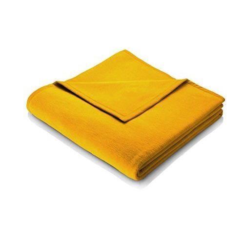 biederlack couverture couvre lit jaune dor achat. Black Bedroom Furniture Sets. Home Design Ideas