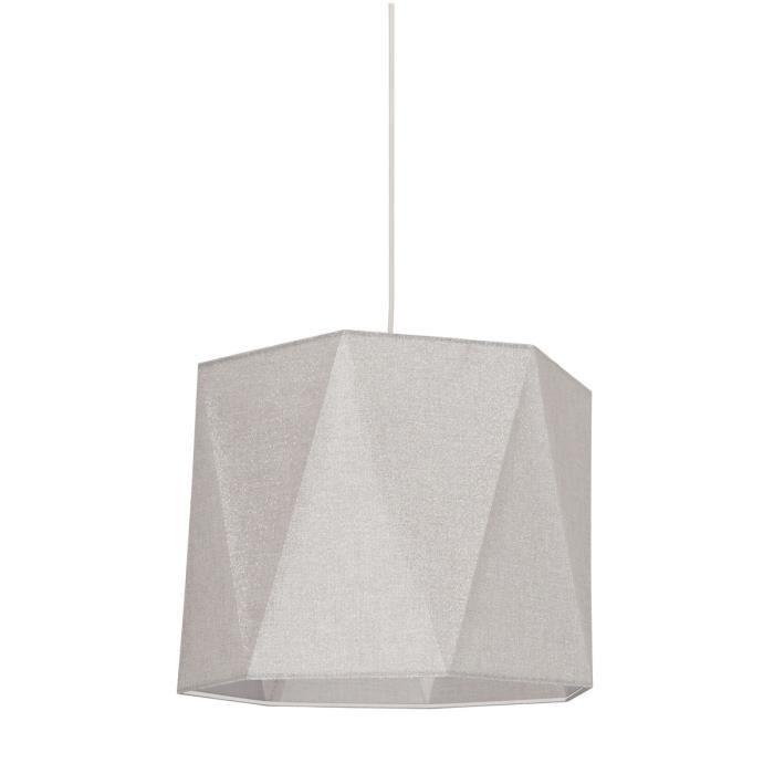 coper suspension forme diamant 38 cm e27 100 w shine. Black Bedroom Furniture Sets. Home Design Ideas