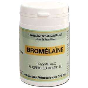 GRAINE SAUVAGE Bromélaîne 60 gélules Achat / Vente tonus
