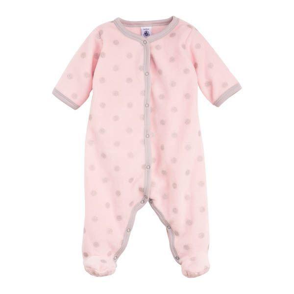Surpyjama petit pois rose gris 18 mois achat vente for Bureau bebe 18 mois