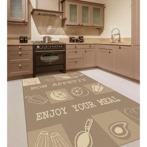 tapis de cuisine achat vente tapis de cuisine pas cher cdiscount. Black Bedroom Furniture Sets. Home Design Ideas