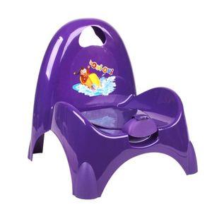chaise petit pot de chambre enfant b b oui oui 39x40x41cm mauve achat vente pot. Black Bedroom Furniture Sets. Home Design Ideas