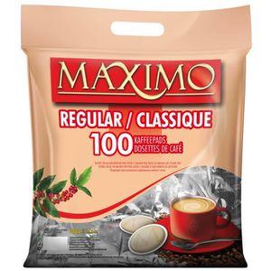 CAFÉ - CHICORÉE CAFE DOSETTES MAXIMO NORMAL (Régular) 100 pcs