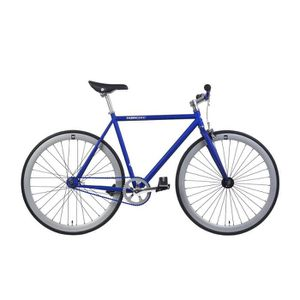 VÉLO DE COURSE - ROUTE FabricBike Matte Blue &  Grey- Vélo fixie, pignon