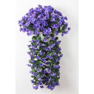 Fleur artificielle violet achat vente fleur for Soldes fleurs artificielles