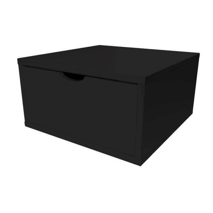cube de rangement largeur 50cm tiroir achat vente petit meuble rangement cube de rangement. Black Bedroom Furniture Sets. Home Design Ideas