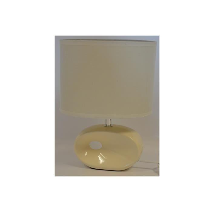 Lampe de chevet blanc maison design for Lampe de chevet baroque