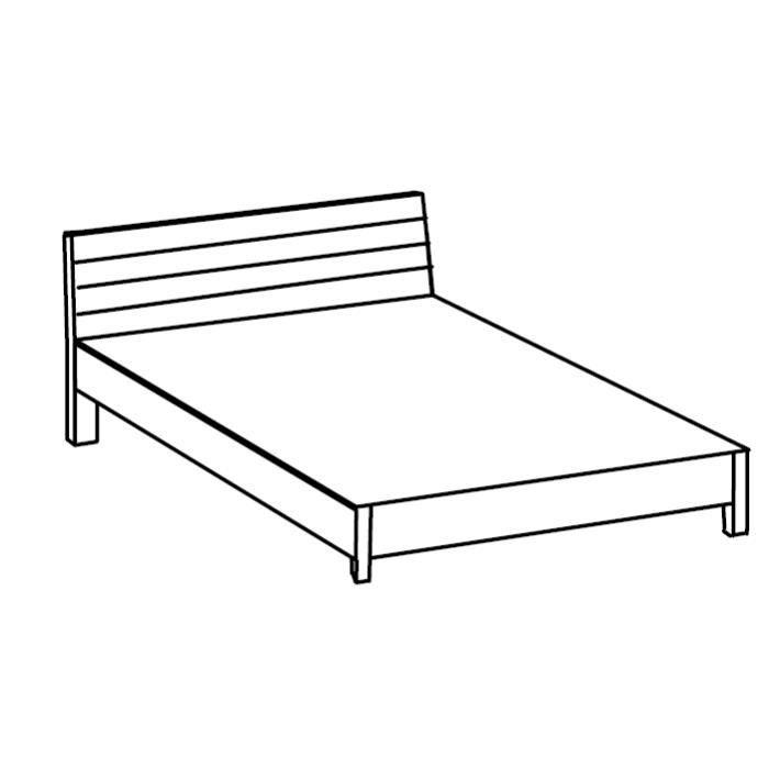 Vous allez rester sans voix face cette magnifique chambre coucher compl te de coloris blanc for Chambre adulte complete blanche