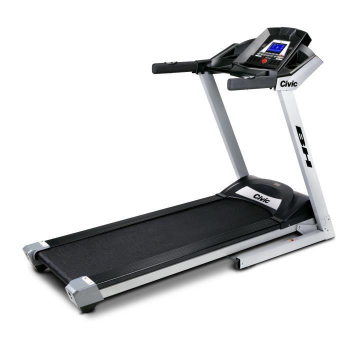 bh fitness civic plus g6240g tapis de course vitesse entre 1 et 18 km h prix pas cher cdiscount. Black Bedroom Furniture Sets. Home Design Ideas