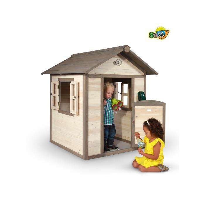 Cabane de jeu pour enfant lodge achat vente for Maison jardin enfant occasion