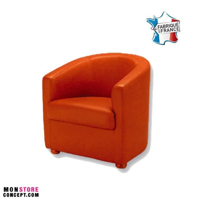 fauteuil art d co orange achat vente fauteuil canap b b 9507655724493 cdiscount. Black Bedroom Furniture Sets. Home Design Ideas