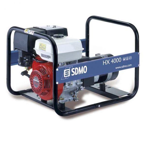 Sdmo groupe lectrog ne hx 4000 essence 230v 4kw achat - Groupe electrogene honda ...