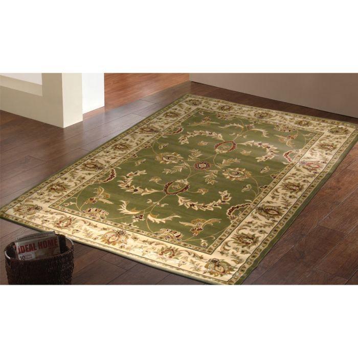 716 verde tapis classique cm 160x230 achat vente. Black Bedroom Furniture Sets. Home Design Ideas