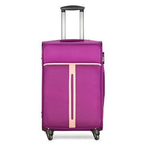 VALISE - BAGAGE Valise bagage souple cabine 4 roues 56cm tolley lé